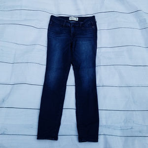 Abercrombie & Fitch Jean Legging dark wash
